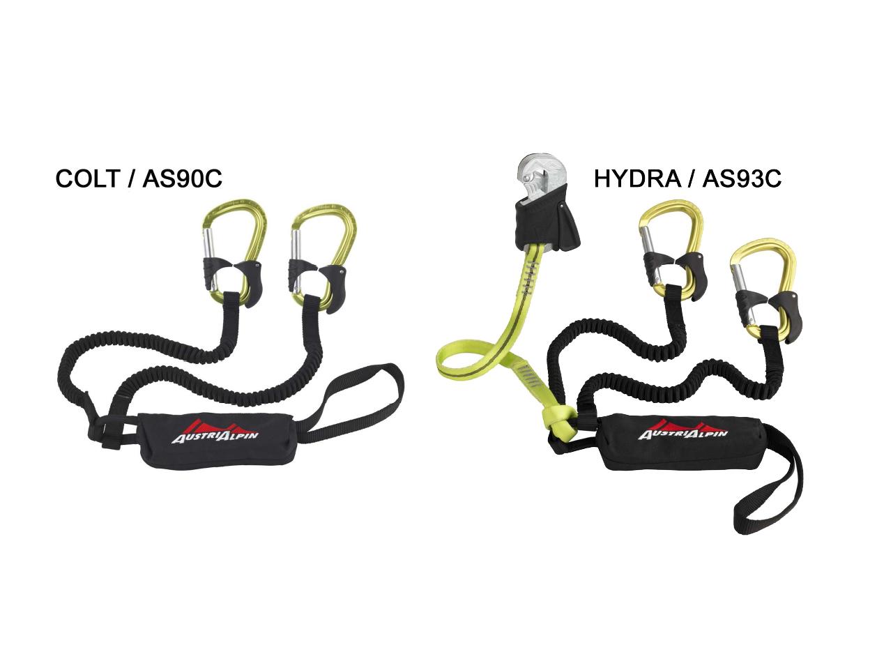 Klettersteigset Hydra : Austrialpin klettersteigset hydra klettersteig evolution