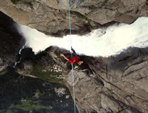 Klettersteig Yosemite : Video: dean potter yosemite falls highline bergsteigen.com