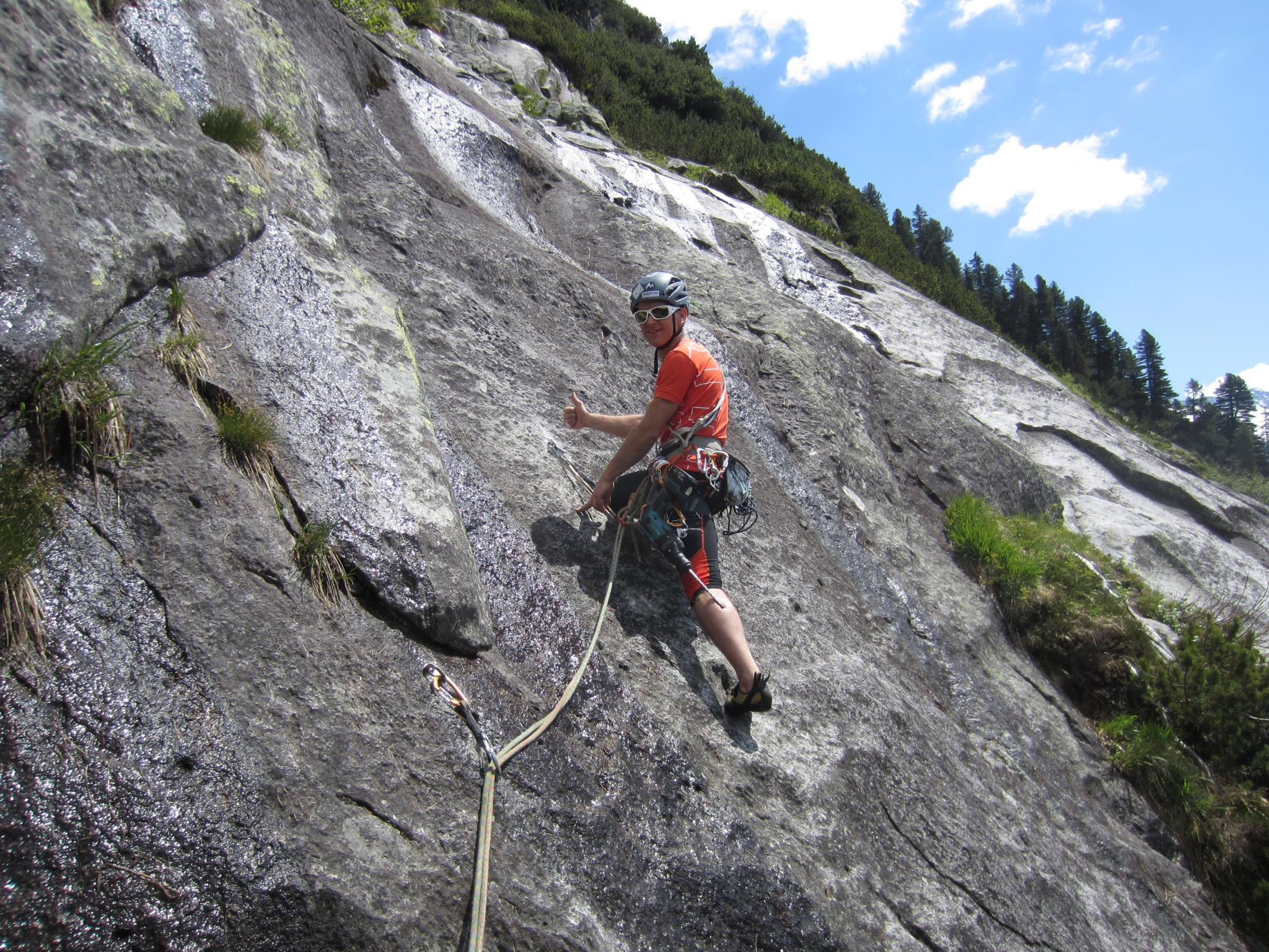 Kletterausrüstung Zillertal : Alpiner spätaufsteher bergsteigen.com