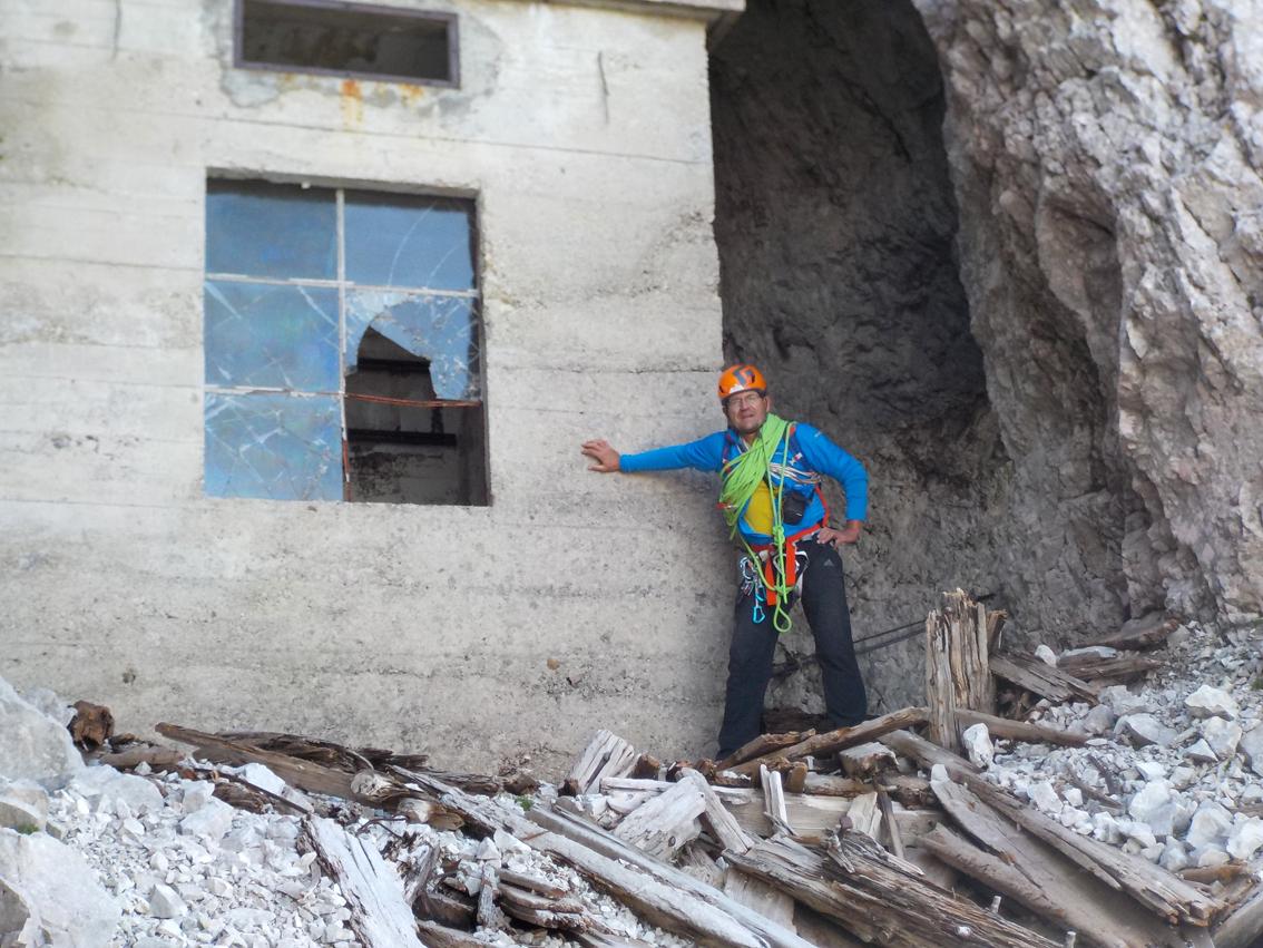 Klettersteig Eisenzeit : Klettersteige in den alpen bergwelten