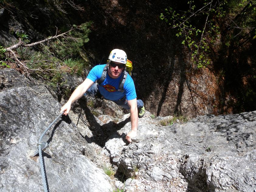 Klettersteig Hohe Wand : Htl klettersteig