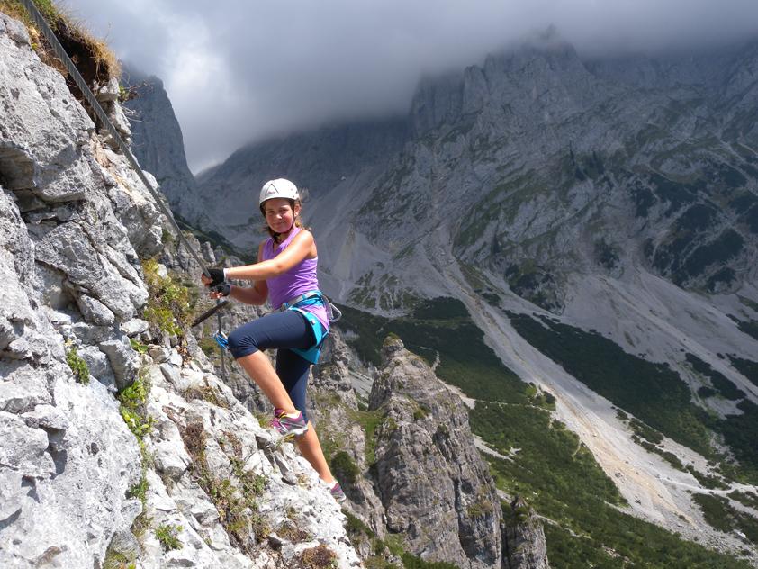 Klettersteig Wilder Kaiser : Klamml klettersteig bergsteigen.com