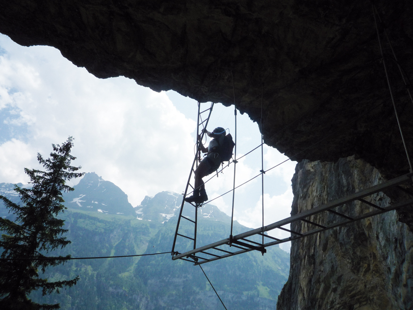 Klettersteig Bern : Kandersteg klettersteig allmenalp bergsteigen