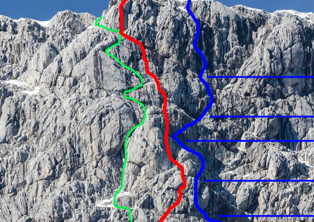 Klettersteig Buchstein : Spritztour bergsteigen.com