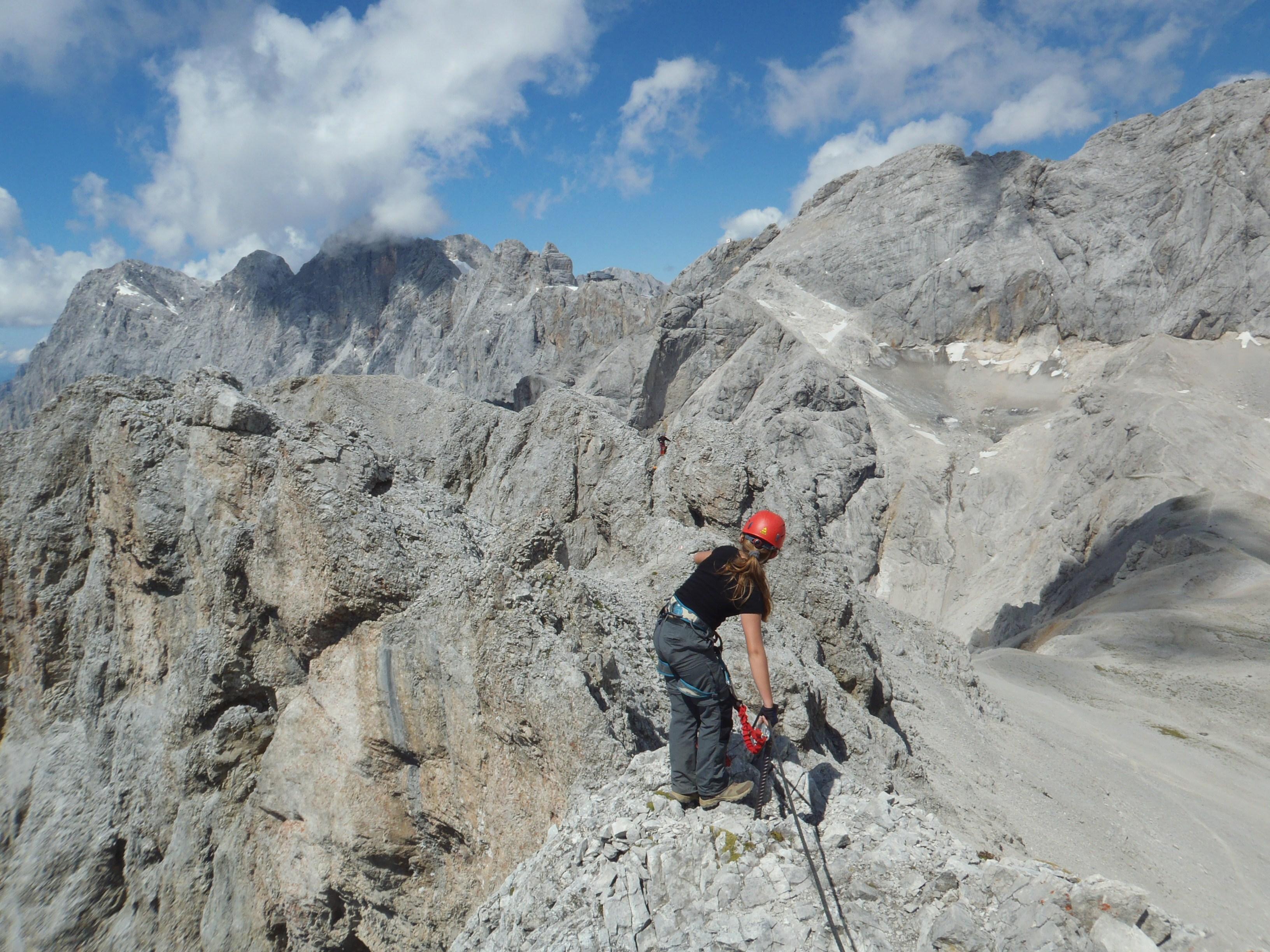Klettersteig Ramsau : Ramsauer klettersteig bergsteigen.com