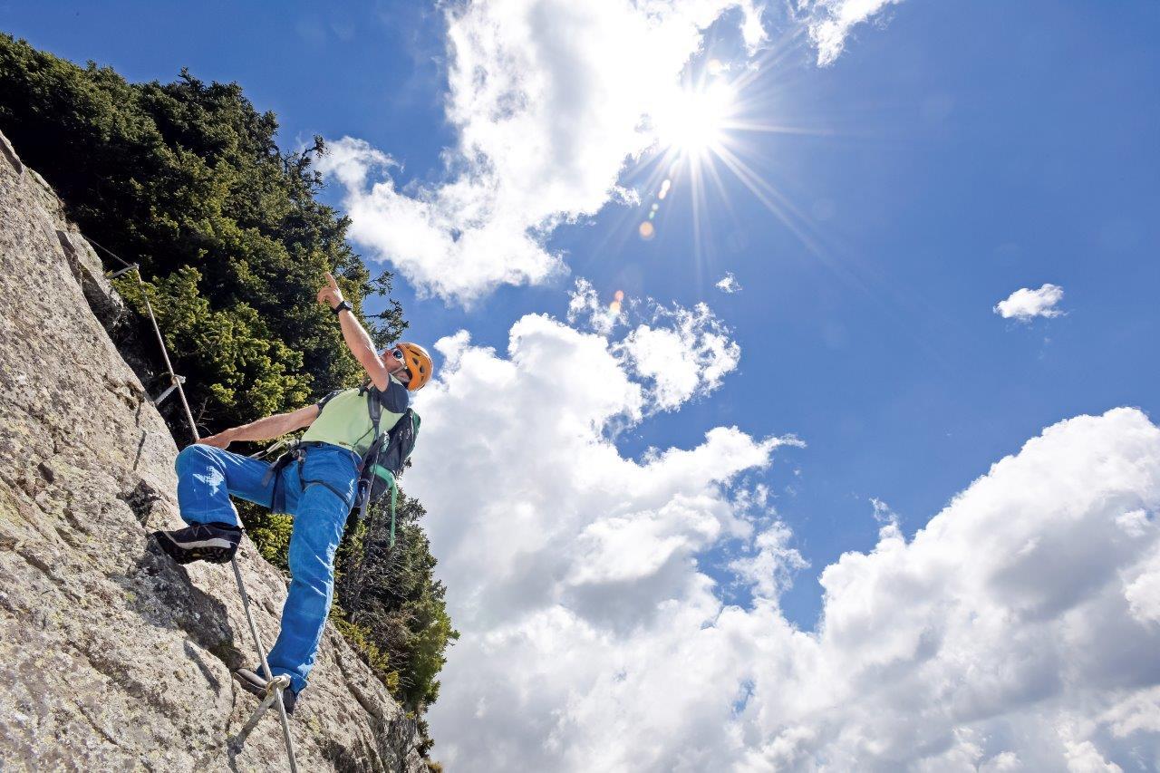 Klettersteigset Montieren : Heini holzer klettersteig bergsteigen.com