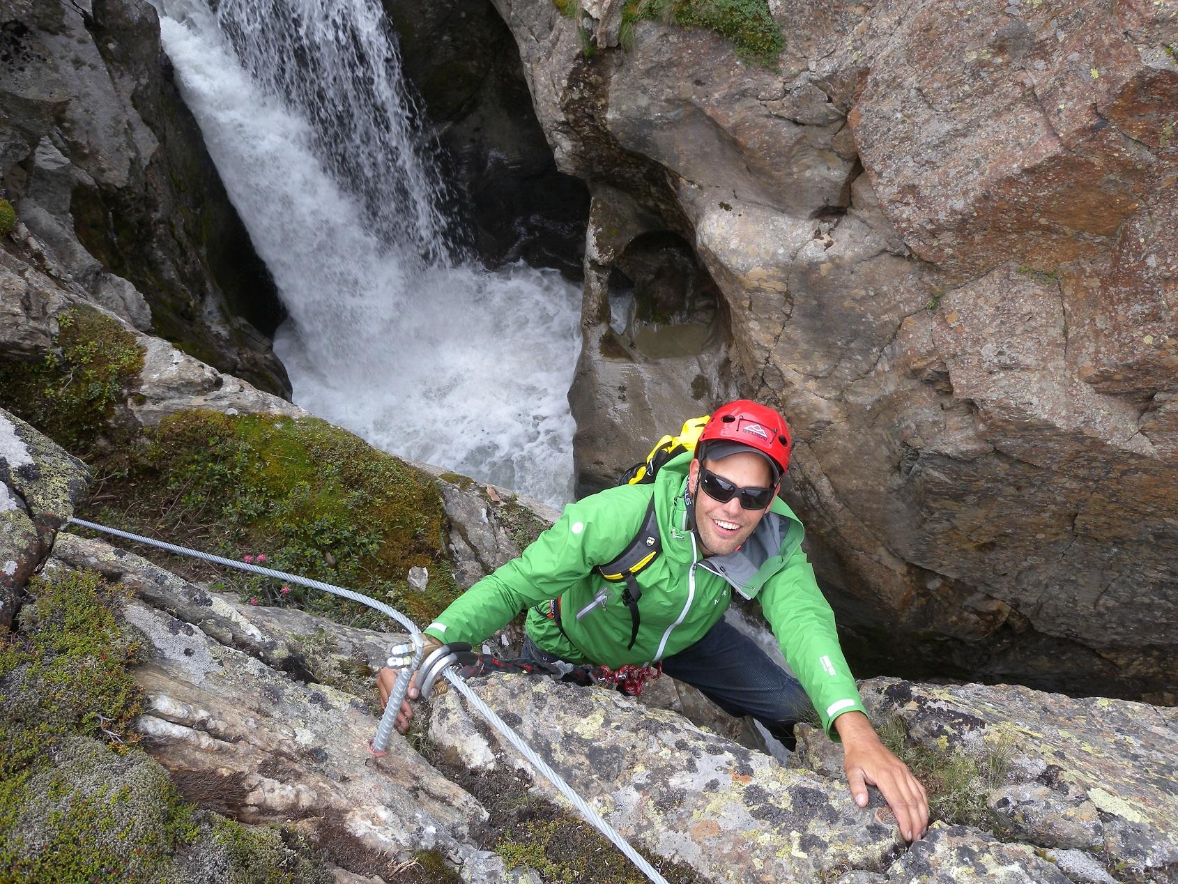 Klettersteig Netstal : Indianersteg netstal youtube