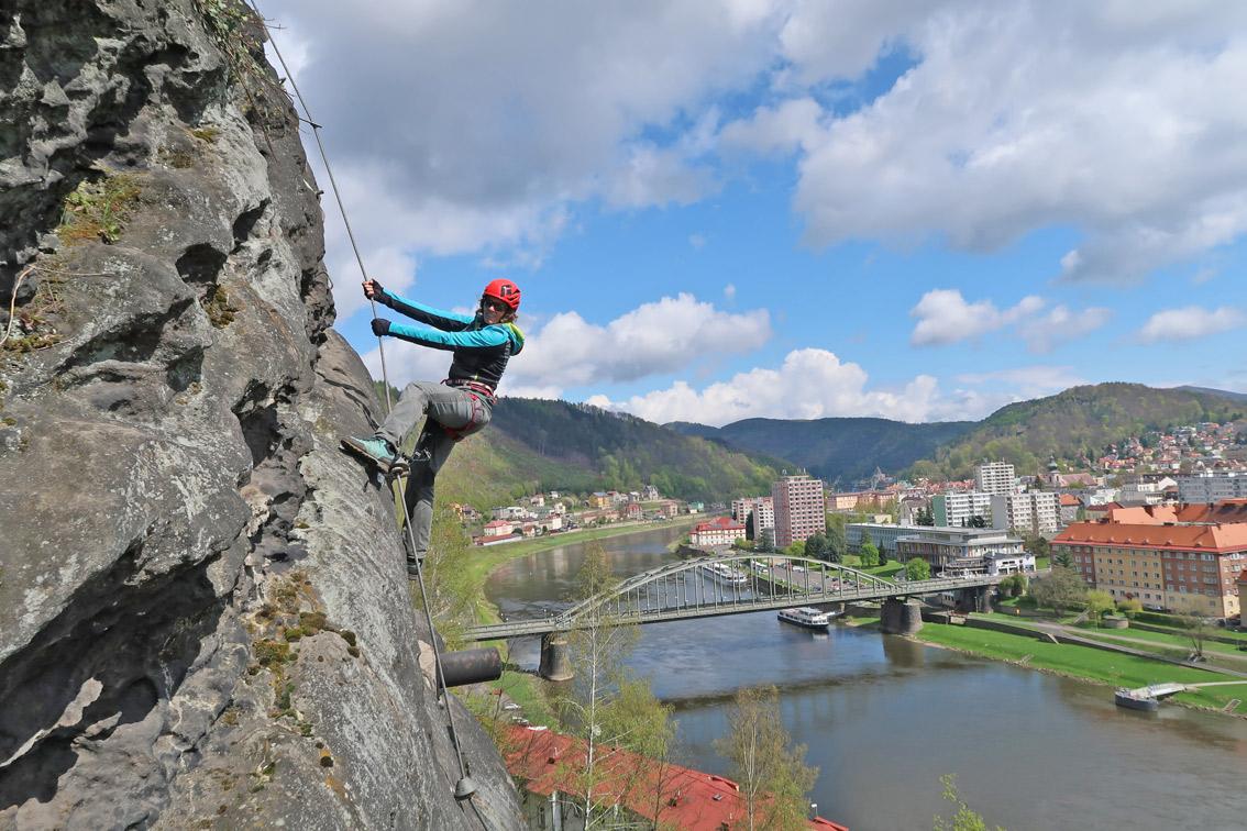 Klettersteig Ferrata : Ferrata pastyrska stena klettersteige schäferwand bergsteigen