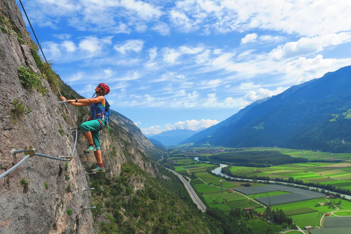 Klettersteig Geierwand : Geierwand klettersteig bergsteigen.com