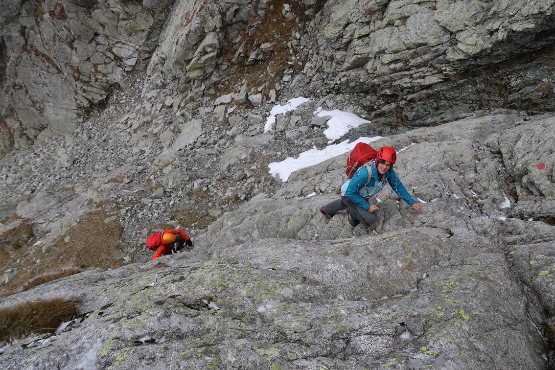 Klettersteig Ifinger : Großer ifinger südwestgrat bergsteigen