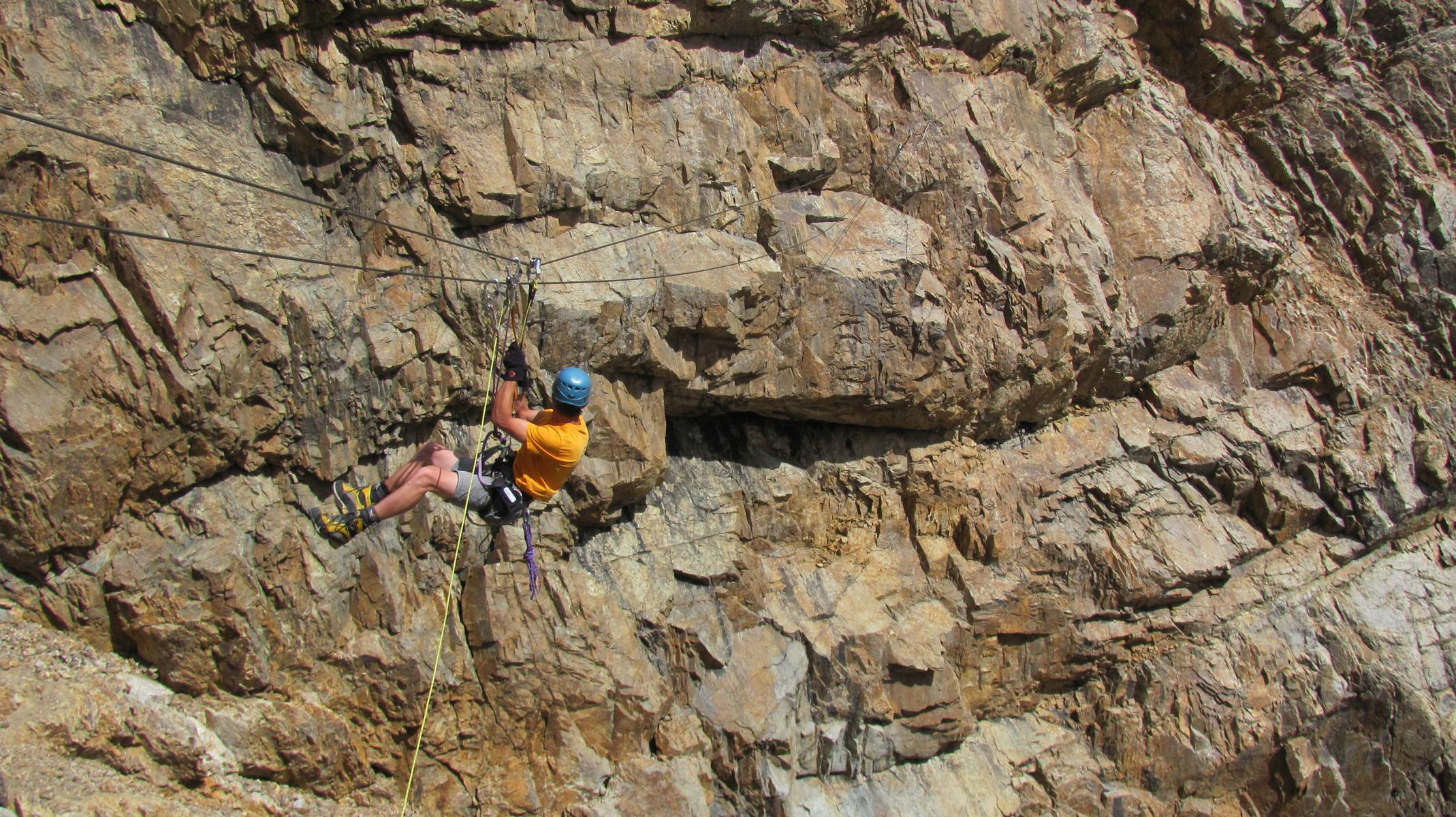 Klettersteig Piz Trovat : Piz trovat klettersteig bergsteigen