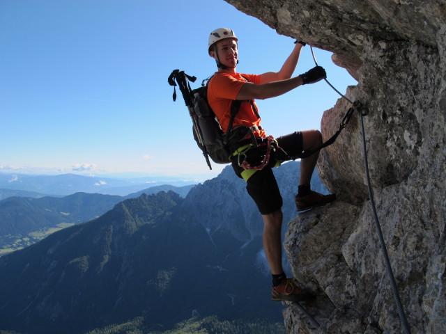 Klettersteig Julische Alpen : Krn und soca tal klettersteig tour in slowenien