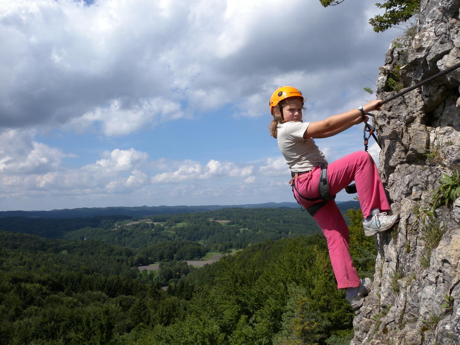 Klettersteig Jura : Klettersteige von leicht bis schwer planetoutdoor