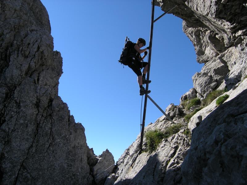 Klettersteig Austria Map : Hindelanger klettersteig bergsteigen.com