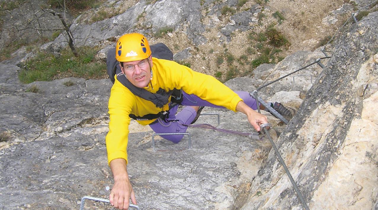 Klettersteig Eitweg : Klettersteig dreifaltigkeit bergsteigen