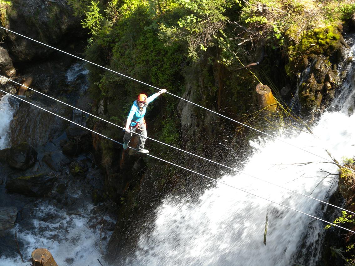 Klettersteig Zillertal : Klettersteig talbach bergsteigen