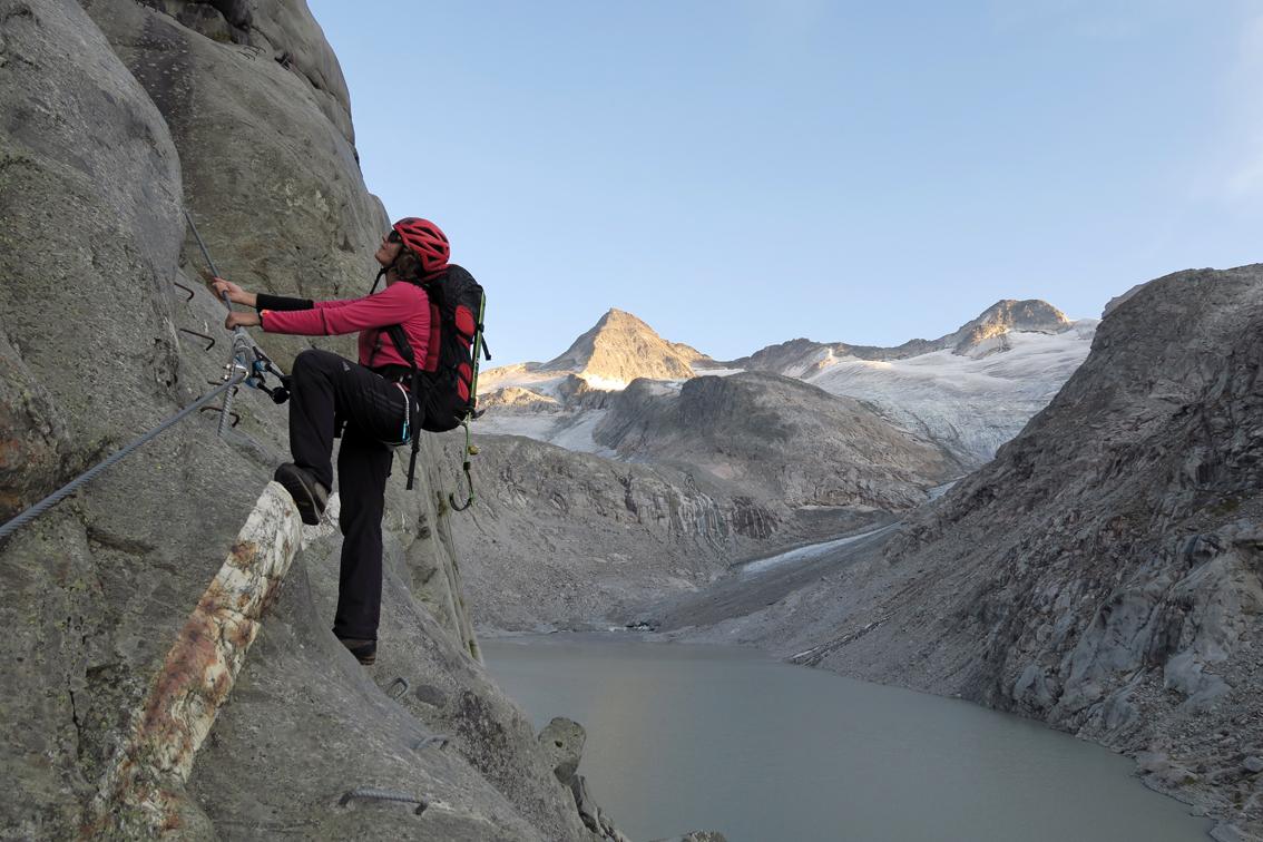 Klettersteig Set Leicht : Kürsingersteig klettersteig bergsteigen