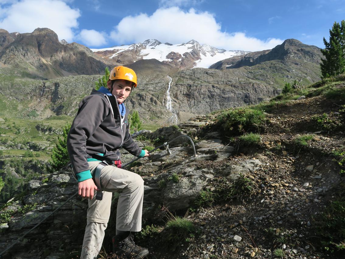 Klettersteig Vinschgau : Murmele klettersteig bergsteigen