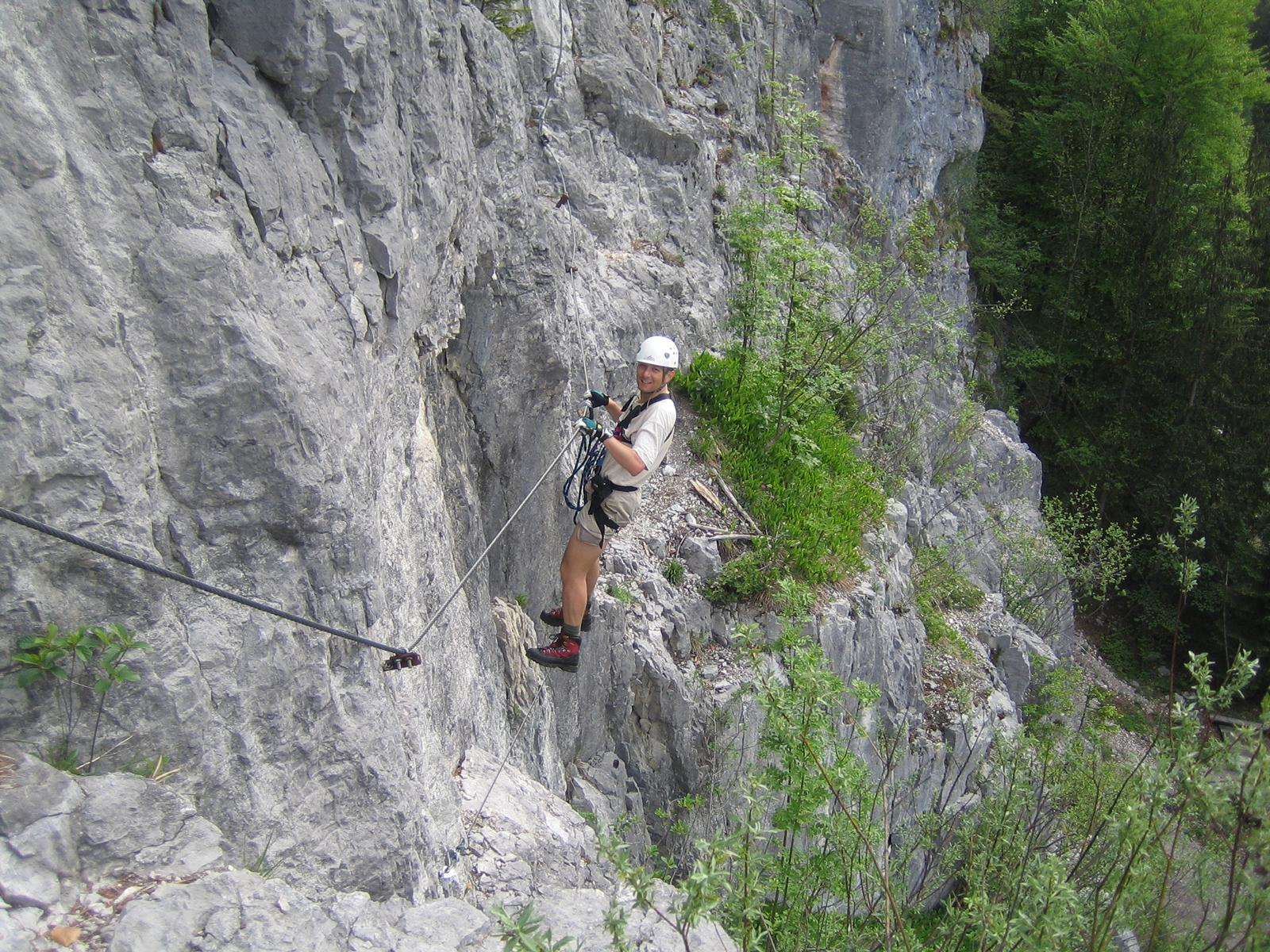 Klettersteig Oberösterreich : Obertraun klettersteig bergsteigen.com