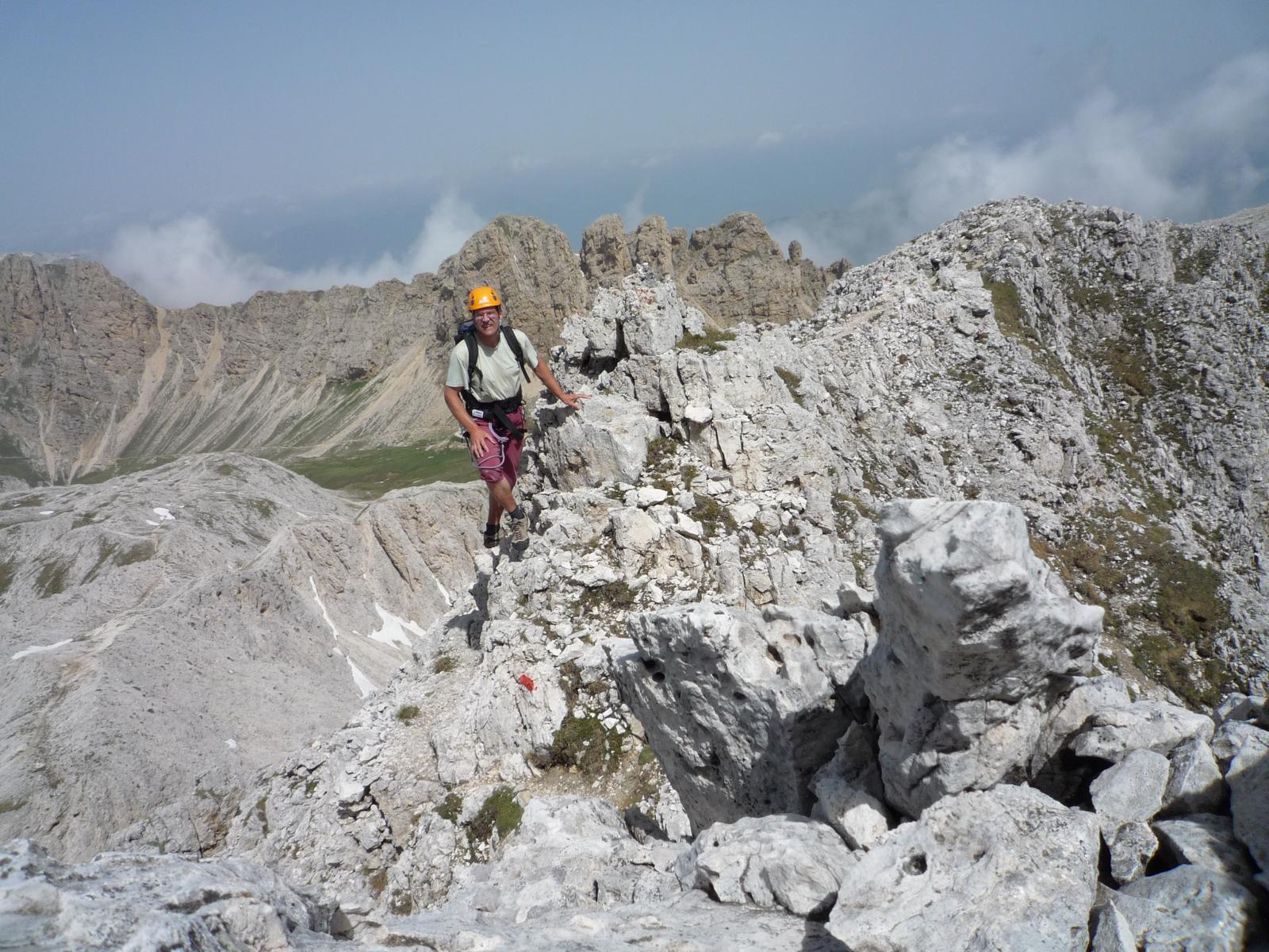 Klettersteig Rosengarten : Laurenzi klettersteig bergsteigen.com