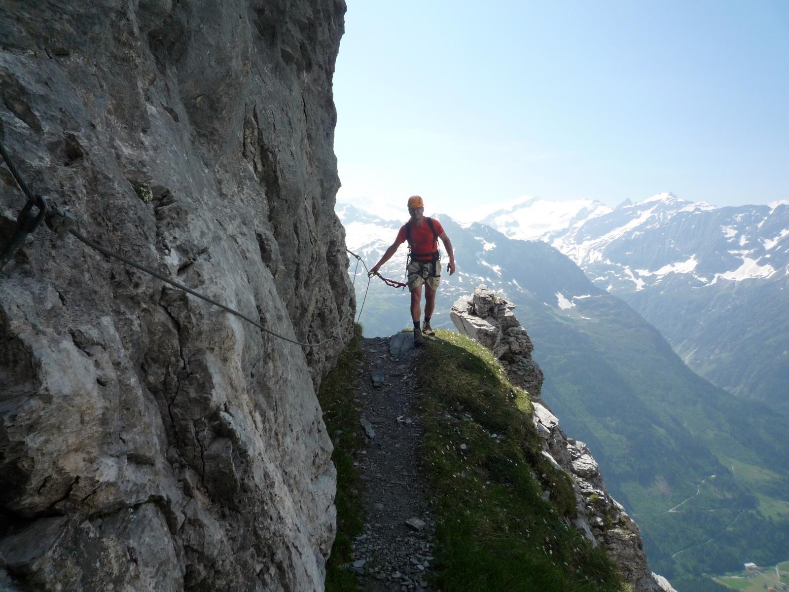Klettersteig Bern : Tälli klettersteig bergsteigen