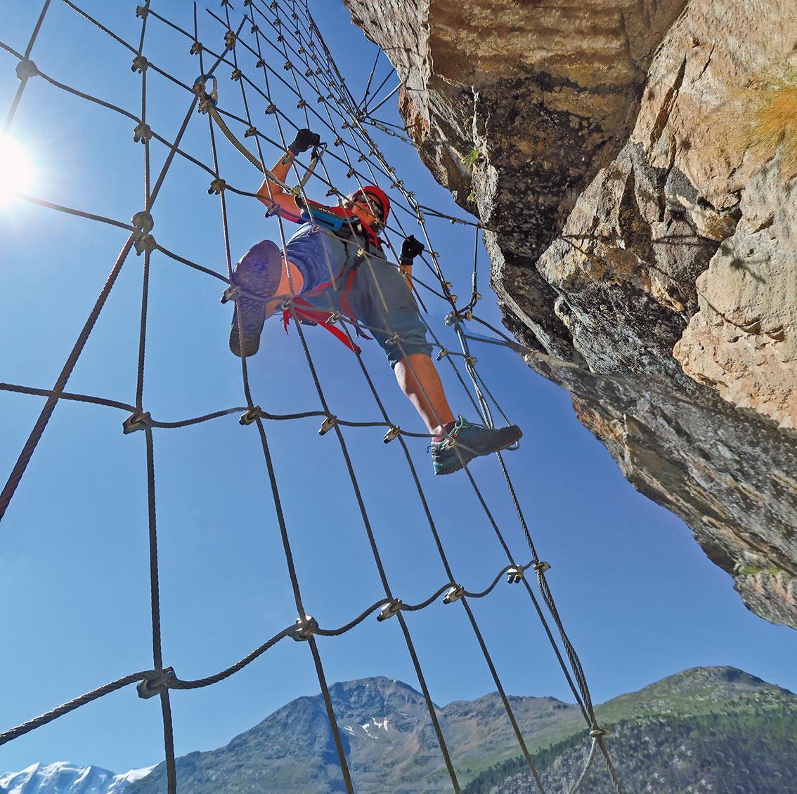 Klettersteig La Resgia : Klettersteig la resgia bergsteigen.com