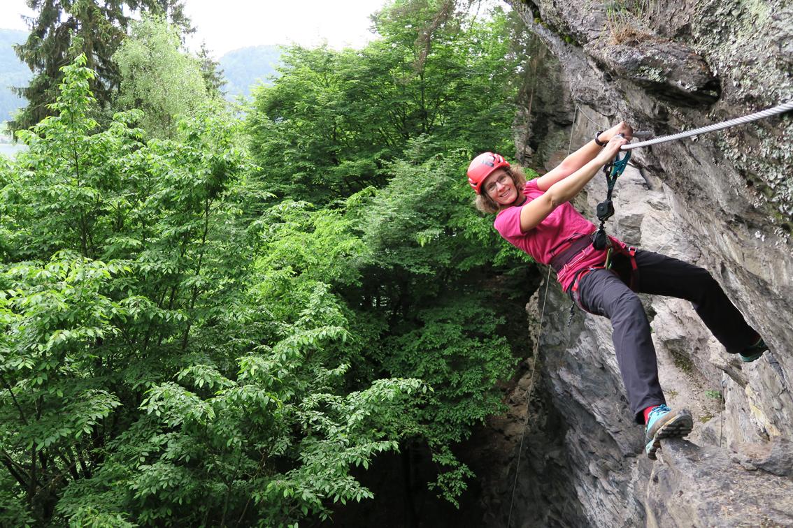 Klettersteig Villach : Peterlewand klettersteig bergsteigen