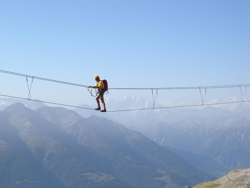 Klettersteig Eggishorn : Eggishorn klettersteig bergsteigen