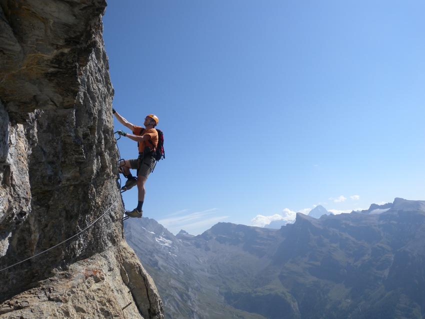 Klettersteig Daubenhorn : Klettersteig leukerbad daubenhorn bergsteigen.com