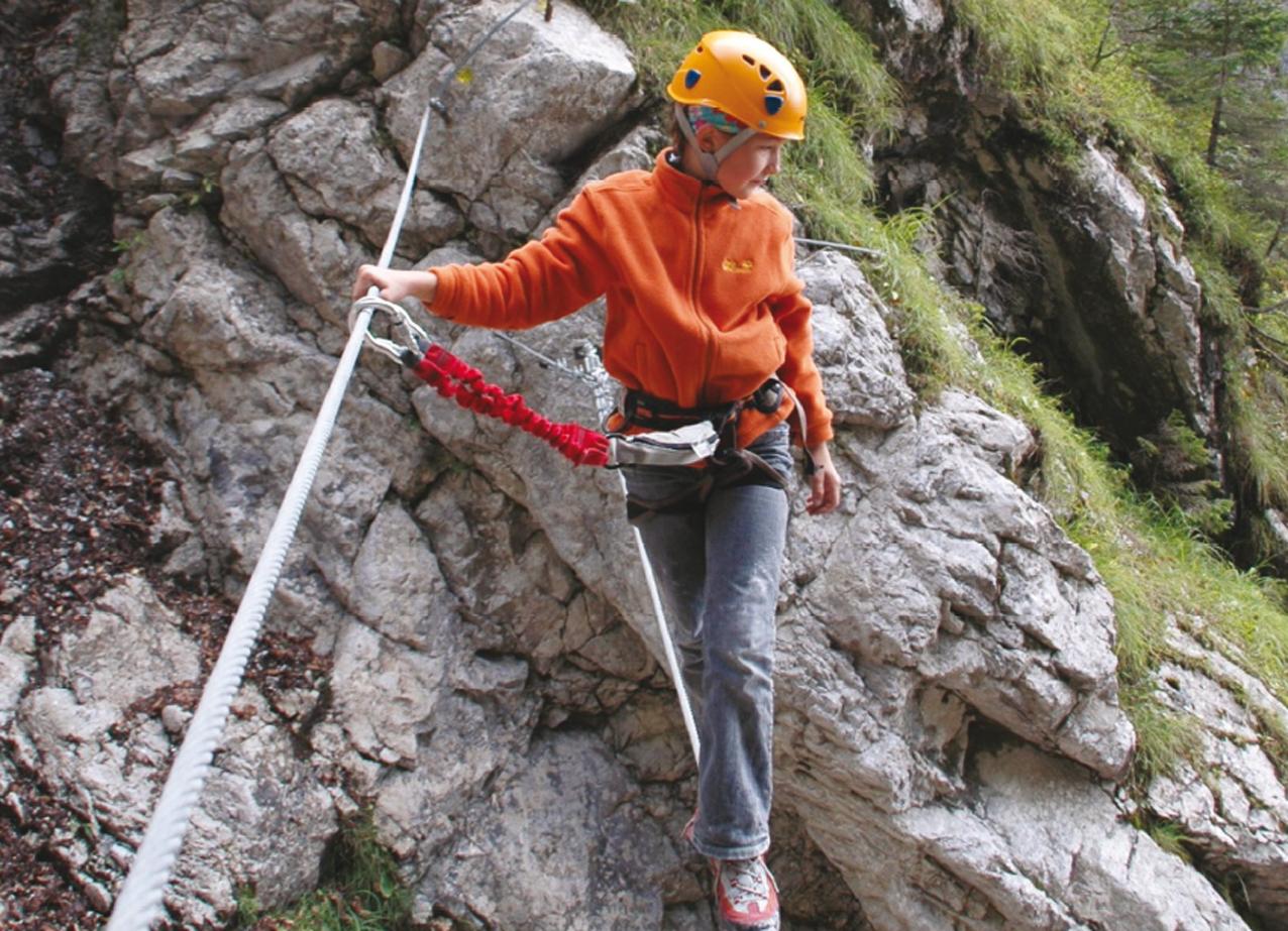Klettersteig Villach : Rotschitza klamm klettersteig bergsteigen