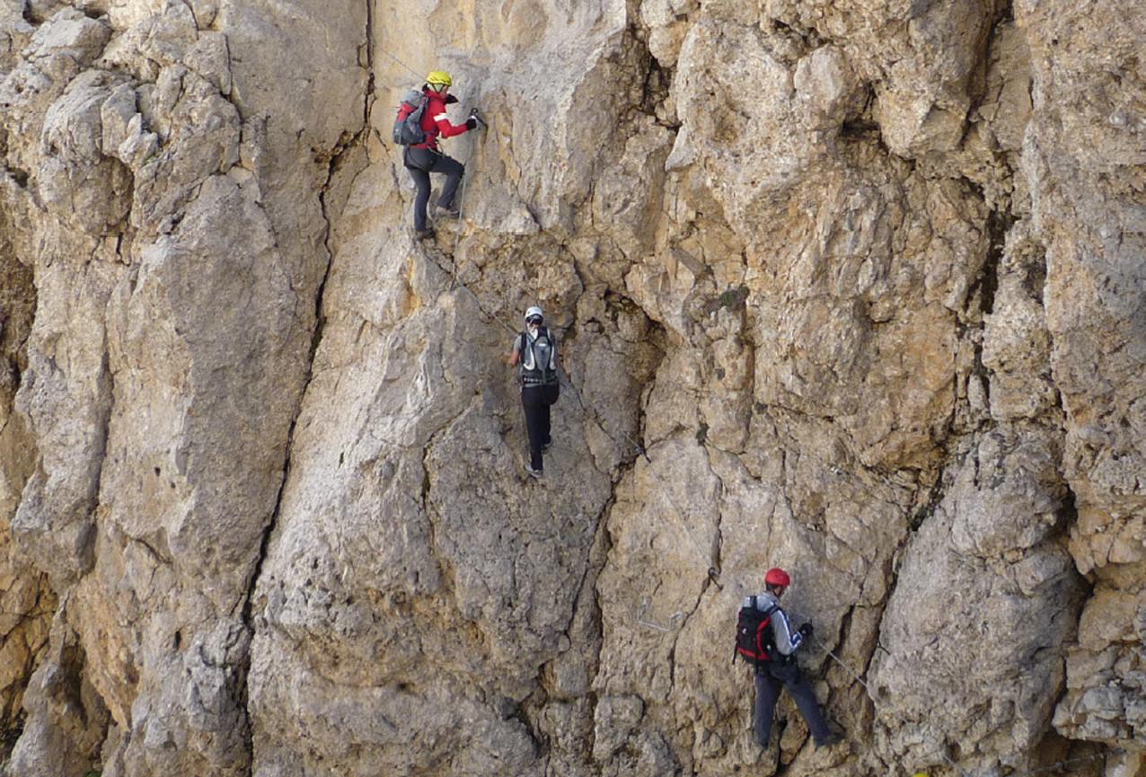 Klettersteig Rotwand : Rotwandklettersteig bergsteigen