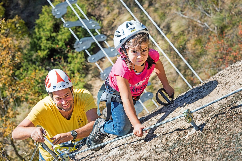 Klettersteig Naturns Knott : Knott klettersteig unterstell bergsteigen.com