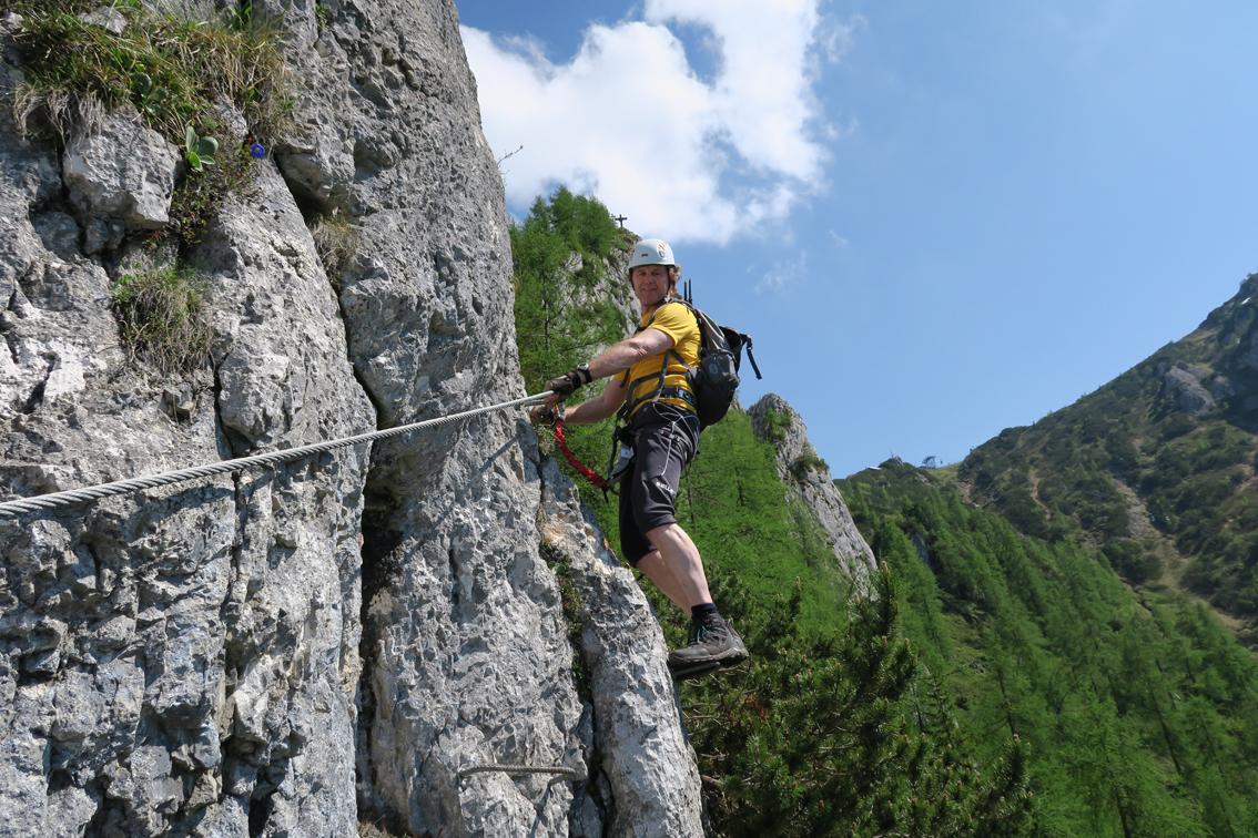 Klettersteig Bavaria : Schützensteig klettersteig jenner bergsteigen