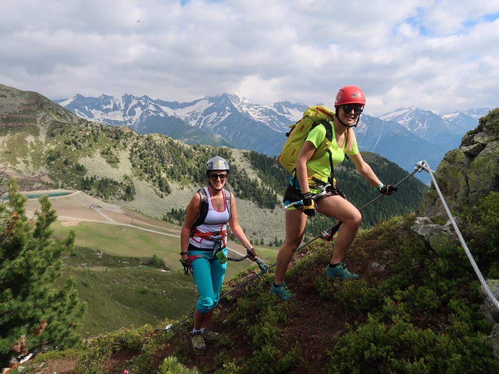 Zillertal Klettersteigset Leihen : Speikboden klettersteig bergsteigen.com