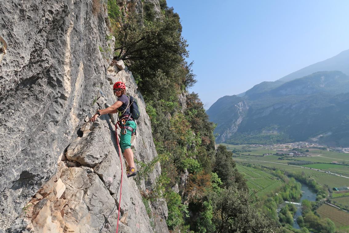 Kletterausrüstung In Der Nähe : Via linda arco bergsteigen