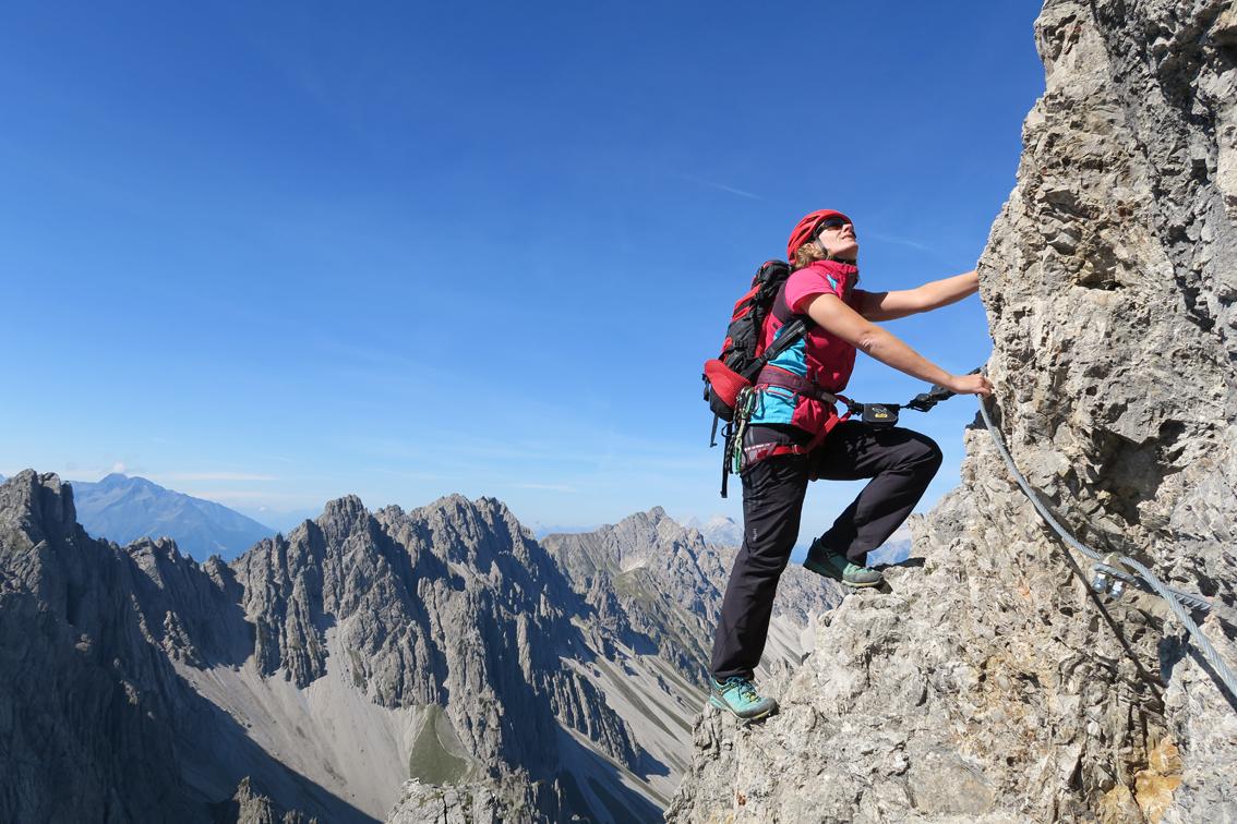 Klettersteig Croda Dei Toni : Zirler klettersteig bergsteigen