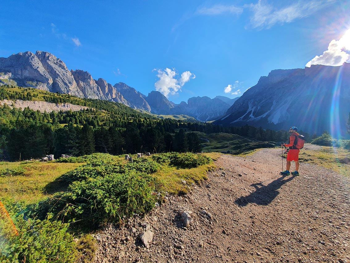 Sass Rigais Klettersteig Villnöss : Sass rigais Überschreitung bergsteigen