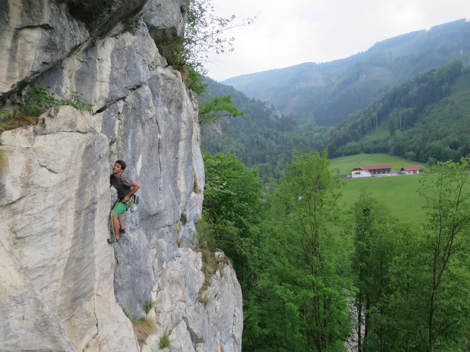 Kletterausrüstung Wien Kaufen : Weissensteinerwand bergsteigen.com