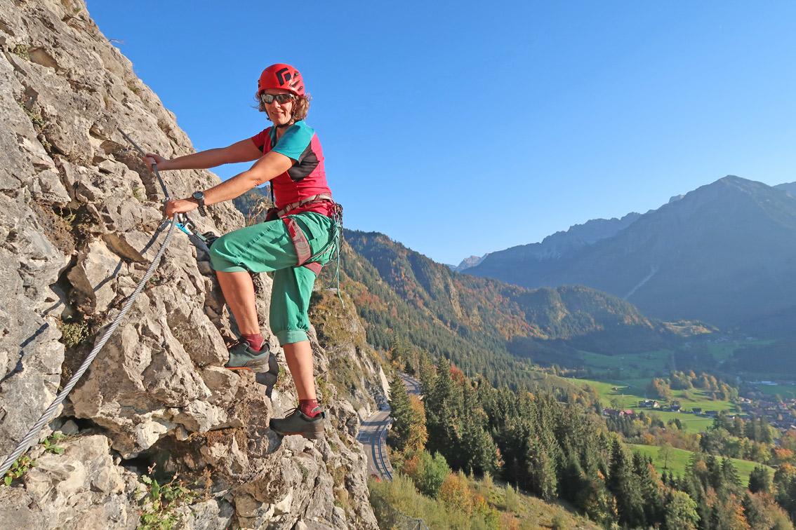 Klettersteig Oberjoch : Ostrachtaler klettersteig bergsteigen